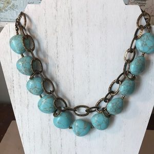 Premier Designs chunky Statement necklace